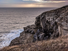Tilly Whim - Swanage, Dorset (BeerAndLoathing) Tags: 2018 december swanage cellphone england winter uktrip cliffs tillywhim google purbeck pixelxl waves sea rocks trip caves android googlepixel pixel winter2018 unitedkingdom gb