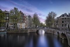 Amsterdam (Marijke M2011) Tags: cityscape amsterdam urbanlandscape canals cityview city netherlands sunset