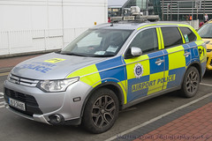 Dublin Airport Police (Martijn Groen) Tags: dublin ireland europe march 2018 dublinairport police aiportpolice lawenforcement emergency mitsubishi outlander vehicle