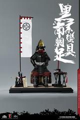 COOMODEL 20181215 CM-SE041 Black Cattail Armor of Oda Nobunaga 织田信长黑系南蠻胴具足 - 12 (Lord Dragon 龍王爺) Tags: 16scale 12inscale onesixthscale actionfigure doll hot toys coomodel samurai
