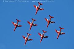 0087 7 ship Diamond R1 R2 R3 R4 R6 R7 R8 (photozone72) Tags: raf rafat redarrows reds redwhiteblue aviation aircraft jets hawk canon canon100400f4556lii canon7dmk2 7dmk2 scampton lincolnshire