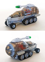 NCS rover (John C. Lamarck) Tags: ncs classic space lego sifi syfy science fiction vehicle febrovery
