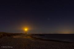 Skagen by night (Mr.Borup) Tags: detgråfyr langeksponering longexposure nat skagen stjerner stars sky himmel nightsky nattehimmel sønderstrand beach lighthouse fyrtårn sea hav nightscape