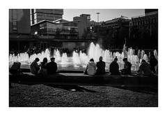 FILM - Fountain (fishyfish_arcade) Tags: analogphotography bw blackwhite blackandwhite fomapan400 istillshootfilm monochrome olympus35rc analogcamera filmisnotdead mono streetphotography