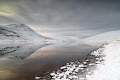 Loch a Bhraoin view south west (donnnnnny) Tags: lochabhraoin westerross winter wonderland ice snow mountains lochs scotland scottishwinter frozen beautiful