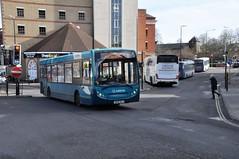 GN58BUJ (Common Buzzard) Tags: colchester essex buses busstation arriva vehicle alexander dennis