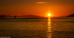 Ambleside.jpg (jamiepacker99) Tags: shoreline spring bc landscape sunset water westvancouver canon6d sea canonef24105mmf4lisusmlens englishbay ship ambleside canada 2019 seascape vancouver