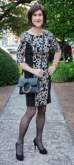 IMG_5011_f (AlexandraCollins) Tags: crossdresser crossdress crossdressing heels legs pantyhose stockings