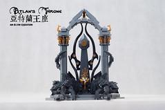 Atlan's-Throne10 (BrickElviN) Tags: lego moc dc aquaman castle ruin throne trident