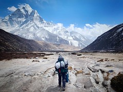 The Road to Periche, Nepal (ipig99) Tags: scenery mountains trekking trek periche himalaya ebc nepal