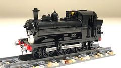 LEGO GWR Class 57xx (Britishbricks) Tags: duck loco train engine steam class 57xx gwr lego