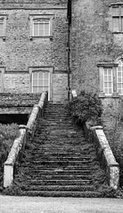 Sizergh Castle steps (timnutt) Tags: sizergh sizerghcastle cumbria 35mm children garden xt2 bw acros monochrome lancashire mono fuji fujichrome family blackandwhite 35f2wr fujifilm