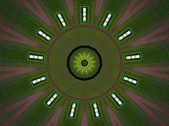 Green Field (Kombizz) Tags: c39 kombizz kaleidoscope experimentalart experimentalphotoart photoart epa samsung samsunggalaxy fx abstract pattern art artwork geometricart green fadepink black greenfield brightlights