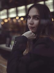 Girl By The Window (Jrwn Photography) Tags: endlessfaces portrait picoftheday artofportraitphotography cinematography sonya7iii sigma35mmart evening peace dreamy bokeh bangkok city smile