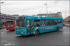 Arriva DK55FYE (Mike McNiven) Tags: arriva northwest runcorn depot murdishaw centre warrington interchange wright cadet