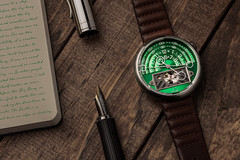 Time to write (Muhammad Al-Qatam) Tags: nikon d850 product still life watch time write green xeric halograph2 wood