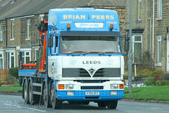 Foden 4000 Brian Peers V704 DFP (SR Photos Torksey) Tags: truck transport haulage hgv lorry lgv logistics road commercial vehicle freight traffic foden brian peers