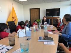 Meeting with Congresswoman Deb Halaand in Albuquerque