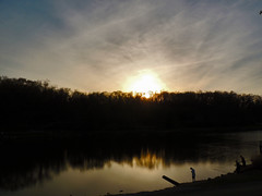 Fishin to End the Day (George Neat) Tags: indian lake park north huntingdon water outside westmoreland county pa pennsylvania scenic scenery landscapes georgeneat patriotportraits portraits america rural country