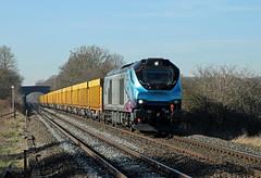 68019 Burbage Common (CD Sansome) Tags: 68019 burbage common road hinckley elmsthorpe direct rail services drs tpe transpennine express trans pennine 68 6u76 crewe basford hall mountsorrel train trains