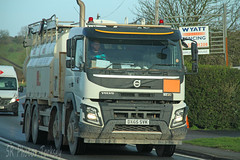 Volvo FMX Tanker DX65 SVK (SR Photos Torksey) Tags: transport truck haulage hgv lorry lgv logistics road commercial vehicle freight traffic volvo fmx tanker