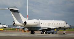 Global   M-YSAI   AMS   20140809 (Wally.H) Tags: bombardier global express bd700 global5000 mysai ams eham amsterdam schiphol airport