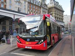 Go Ahead London SEe34 (Teek the bus enthusiast) Tags: victoria putney bridge route 36 507 london buses go ahead abellio metroline tower transit national express