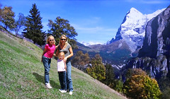 FRANCE - Alps (Jacques Rollet (very little available)) Tags: mountain montagne france alps alpes people famille kid girl child enfant nature snow neige