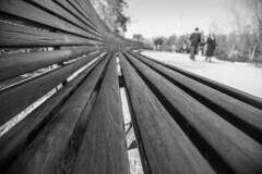 Take a seat (Lea Ruiz Donoso) Tags: street calles people gente couple asiento bench madridrio rio manzanares park arboles trees blancoynegro blackandwhite bw monochrome 2019 sony