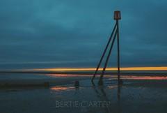 Elmer beach at dawn (bertie.carter.photography) Tags: beach dawn sand sunrise westsussex elmer colourful clouds