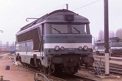 SNCF 68014 (bobbyblack51) Tags: sncf class 68000 cafl cem fiveslille sulzer a1aa1a diesel locomotive 68014 tours st pierre des corps depot 1997