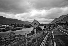 Road (OmaWetterwachs) Tags: irland ireland eire travel irish sign clouds road street drive