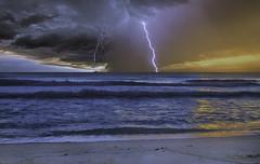 An unexpected storm. (Aglez the city guy ☺) Tags: seascape storm miamibeach northbeach seashore walkingaround waterways beachscape urbanexploration earlyinthemorning exploration outdoors miamifl