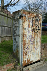 Weathered, Station Road (Loz Flowers) Tags: london barnet finchley