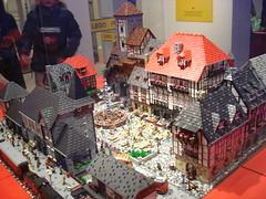 DSC05036 (fdsm0376) Tags: lego exposition madrid 2018 castle roma winter village city ww2