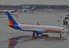 G-GDFW Boeing 737-800 of Jet2 (SteveDHall) Tags: 2018 egcc man mcr aircraft airport aviation airfield aerodrome aeroplane airplane airliner airliners manchester manchesterairport ringway rain ggdfw jet2 exs ls channex boeing737800 boeing boeing737 b737 b738 b737800 737 737800 738