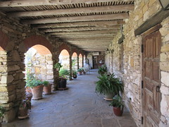 Arcade of convento, Mission Espada, San Antonio, Texas (Paul McClure DC) Tags: sanantonio bexarcounty texas dec2017 spanishmission historic architecture