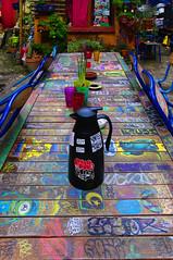 Table de la friche des Trois couronnes (Edgard.V) Tags: paris parigi friche squat trois couronnes streetart arte urbano urban art callejero table tavola mesa