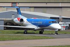 Loganair Embraer ERJ-135 G-RJXK EREMA 06/04/19 (bhx_flights) Tags: ema egnx eastmidlands eastmidlandsairport airport loganair bmi bmiregional embraer erj135 embraer135