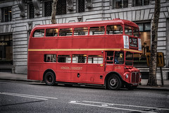 Double-decker to Tower Hill (Dannis van der Heiden) Tags: doubledecker stagecoach rm1933 red london transport road building roka tree window street adl933b sidewalk uk england driver conductor nikond750 d750 tamron70210mmf4 bus publictransportation