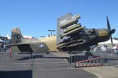 N965AD (LAXSPOTTER97) Tags: n965ad dou douglas ad4n skyraider cn 7765 the proud american museum flight jet blast bash 2018 aviation airport airplane kbfi