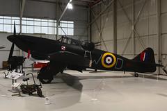 N1671 Boulton & Paul Defiant F.Mk.1 RAF Cosford 18-12-18 (MarkP51) Tags: n1671 boultonpaul defiant fmki royalairforce raf ww2 nightfighter rafmuseum cosford england preserved military aircraft airplane plane image markp51 nikon d7200 nikon24120f4vr