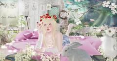 Time to Bloom (roxi firanelli) Tags: bloom prismevents spring genusproject okkbye ayashi lode shinyshabby swan amais ama mangula luxuria nomad serenitystyle peaches hextraordinary anc amitieposes secondlife