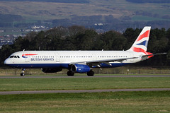 G-EUXM British Airways Airbus A321-231 at Glasgow International Airport 23 March 2019 (Zone 49 Photography) Tags: aircraft airliner airlines airport aviation plane march 2019 gla egpf glasgow abbotsinch international scotland ba baw britishairways british airways airbus airbusa321 a321 321 200 231 geuxm