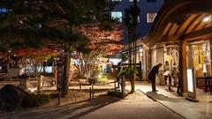 Checking out the menu (FlickrDelusions) Tags: nightphotography night japan matsumoto matsumotoshi naganoprefecture jp