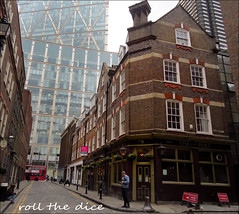 The Water Poet`Pub Closed Down (roll the dice) Tags: thepewterplate london sad mad e1 nortonfolgate shoreditch city corner vanished demolished local history bygone boozer pub publichouse closed beer ale drinking development shut streetfurniture architecture madness spitalfields garden pint towerhamlets huguenot libertyofnortonfolgate bishopsgate east windows bus bollards changes collection nostalgia comparison ornate lights