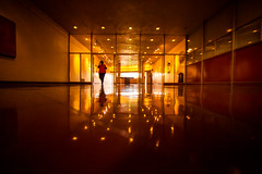 I Don't Know God But I Fear His Wrath (Thomas Hawk) Tags: america california franklloydwright marin marinciviccenter marincounty sanrafael usa unitedstates unitedstatesofamerica architecture escalator fav10 fav25 fav50 fav100