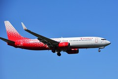 (ORY) Rossiya Boeing 737-800 VQ-BWJ Landing runway 06 (dadie92) Tags: orly rossiya boeing b737 b737800 vqbwj lfpo spotting landing aircraft airplane speciallivery nikon d7100 sigma tamron ory russian danieldanel