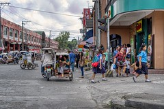 Busy Street (Beegee49) Tags: street busy people pedicabs tricycles public transport sony a6000 luminar silay city philippines asia happyplanet asiafavorites