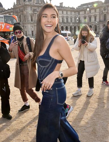 Madison Beer at Paris Fashion Week